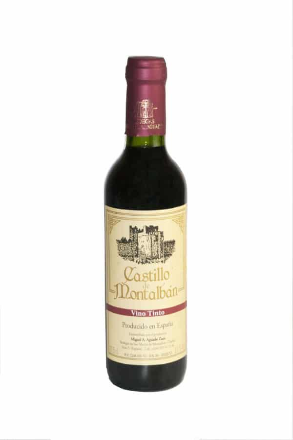 Excelente vino Castillo de Montalbán pack 24 botellas vino tinto 33 cl Saludos!