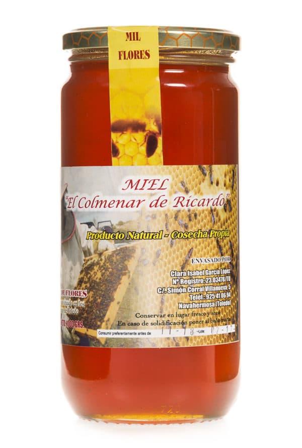 Gran miel Natural de flores de las Colmenas de Ricardo en Navahermosa