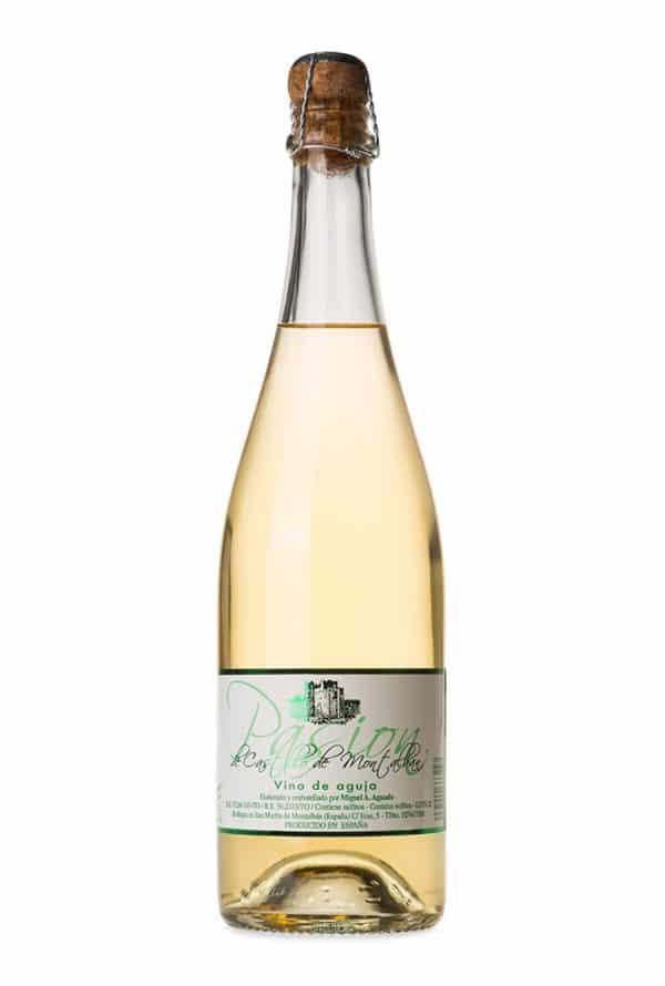 Gran vino blanco frisante Pasión de Castillo de Montalban.