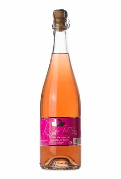 Gran vino rosado aguja Pasión de Castillo de Montalban.